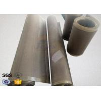 Quality Heat Resistant Ptfe Coated Glass Fabric Satin Weave FDA Certificated wholesale