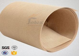 Cheap Plain Width Ptfe Coated Fiberglass Cloth for Food Baking / Heat Sealing Machine for sale