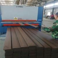China dark carbonized bamboo outdoor strand woven flooring tiles on sale