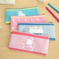 Quality OF309 Sheep Pencil case Zipper bag wholesale