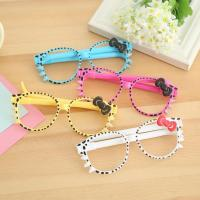 Buy cheap OF110 Cute bow style glasses ballpoint pen product