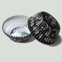 China foiled coated cupcake liner on sale