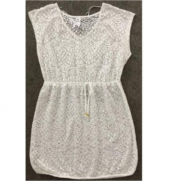 China LATEST Ladies SS crochet kaftan TC1-670