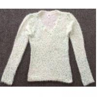 Buy cheap LATEST Girls plush cashmere V-neck sweater TC3-371 from wholesalers