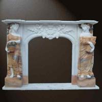 Buy cheap stone fireplace mantels product