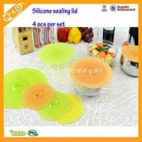 Buy cheap Silicone Suction Lids Food Saver Covers For Bowls FYK-201508042 from wholesalers