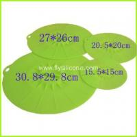 Buy cheap Muti-fuction Use Fashionable Flexible Lovely Silicone Lid FYD-4746 from wholesalers