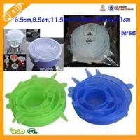 Buy cheap silicone stretch fresh cover for fruit bowl from wholesalers