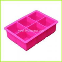 Quality Wholesale 6-Cavity Silicone Ice Cube Tray FYJ-046 wholesale
