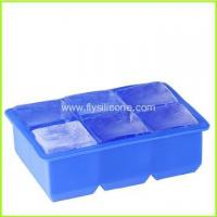 Quality Wholesale 6-Cavity Square Silicone Ice Tray FYJ-039 wholesale