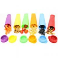 Quality Wholesale Flexible Silicone Ice Pop Maker Mold FYK-05181 wholesale