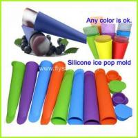 Quality Colorful Food Grade Silicone Popsicle Ice Pop mold FYD-3499 wholesale