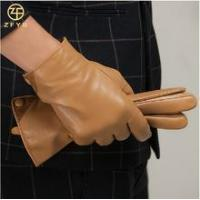 Quality Men stylish cheap leather gloves in europe wholesale