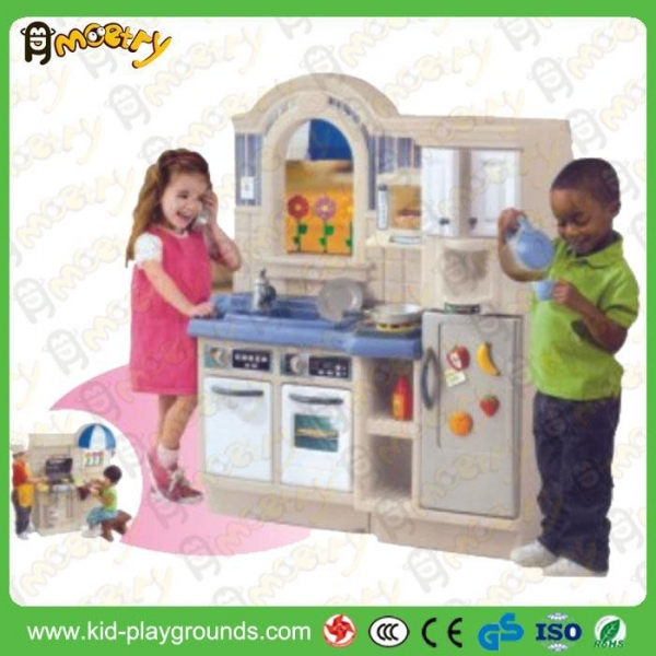 Cheap new design kids kitchen set toy of kid playgrounds for Kids kitchen set sale