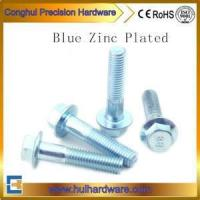 8.8 Flange Bolt With Blue Zinc Plated