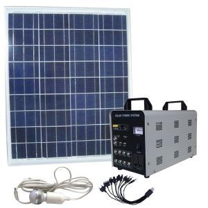 China white 50~80w AC solar generator