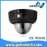 China 720P HD Vandal-resistant IP dome camera support wifi SD IR on sale