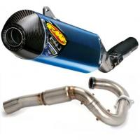 Quality FMF Factory 4.1 Titanium Slip-On RCT With Powerbomb Header And Carbon Fiber End Cap wholesale