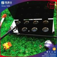 Eco-friendly professional acrylic costotics eye shadow case/eye shadow container/naked eye shadow