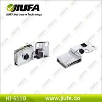 China Zinc alloy cabinet glass door hinge HI-6110 on sale