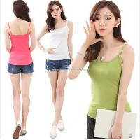 Buy cheap fashion custom cheap sexy tank top women, high quality fashion sexy tank top for women WW150706004 from wholesalers