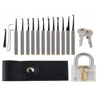 China 1-78+5-12 12pcs hook picks+practice padlock on sale