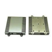 China Aluminum extrusions machined heat sink housing