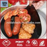 China manufacturer! Reusable non-sticky PTFE teflon cooking sheets,BBQ grill mat,baking sheet