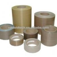 Quality PTFE Coated Fiberglass Fabric PTFE Film Adhesive Tapes PTFE Self Adhesive Tape wholesale