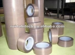Cheap Ptfe coated fiberglass reinforced adhesive fabric for sale