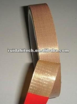 Cheap PTFE glass fiber adhesive tape adhesive backed fabric for sale