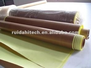 Cheap Adhesive backed PTFE fabric 0.08mm for sale