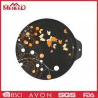 China Black color with custom design mealmine hard plastic chopping board Model13133 on sale