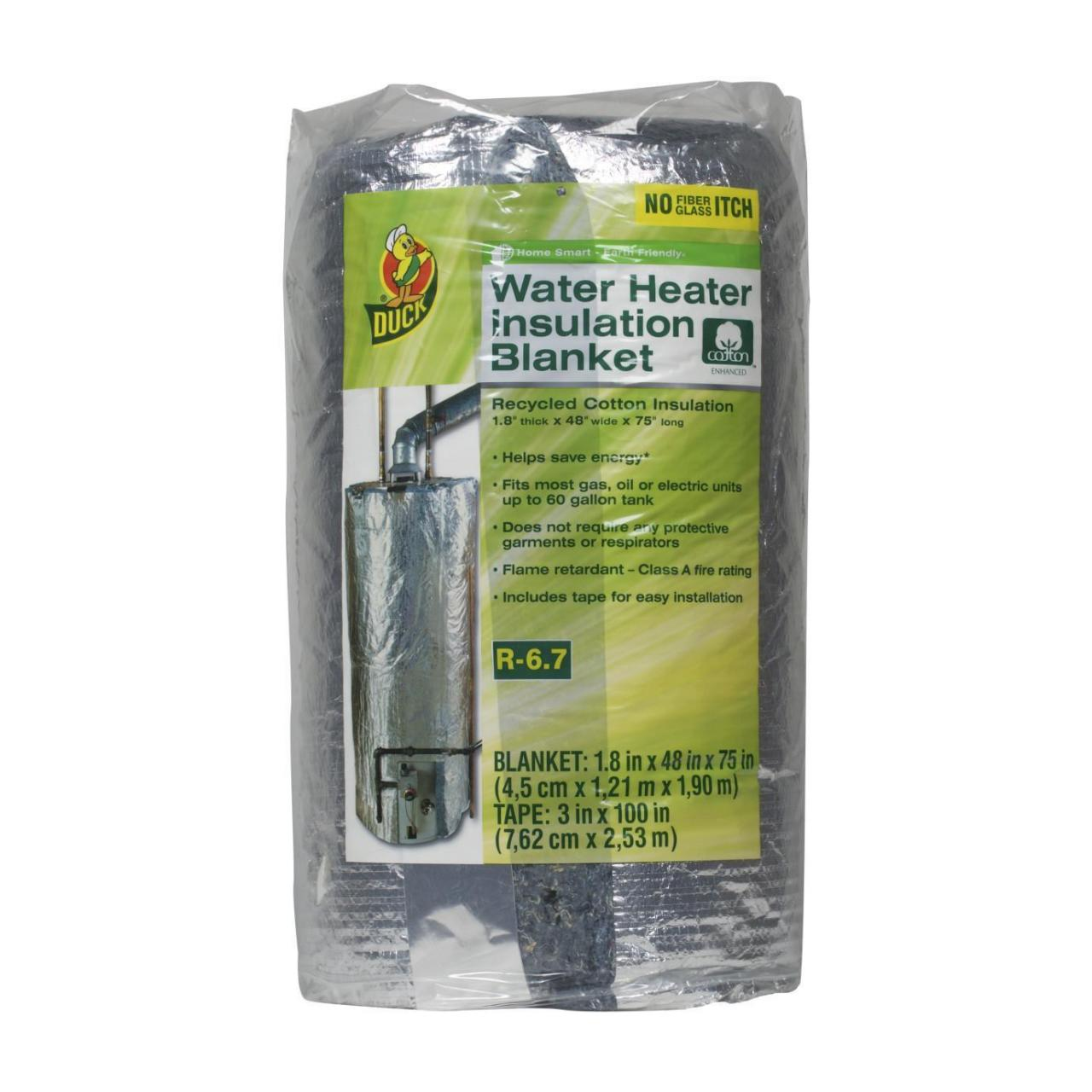 Quality Duck Brand Water Heater Insulation Blanket, 1.8 in. x 48 in. x 75 in. wholesale