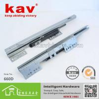 Quality 660D soft closing drawer slides undermount,drawer slide hardware wholesale