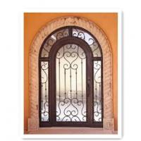 Quality Wrought Iron Door Model:A5 Name:Hench-A5 Material:Iron Crafts:forged iron wholesale