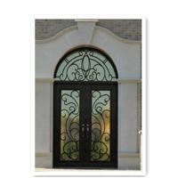 Quality Wrought Iron Door Model:AS20 Name:Hench-AS20 Material:Iron Crafts:forged iron wholesale