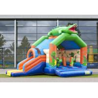 Quality Bouncy Castles with slide crocodile wholesale