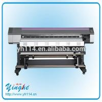Quality Yinghe 3.2 M large format outdoor & indoor eco solvent printer wholesale