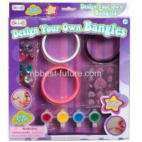 Quality MC15116 Kids colorful bangles set DIY Craft kits wholesale