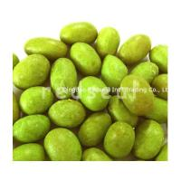 China crispy wasabi flavour coated peanuts on sale