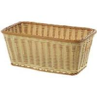 China Vintage Small Plastic Basket with Handles 16L x 9W x 6 3/4D on sale