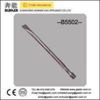 Quality B5502 stainless steel straight gas grill tube commercial gas burner wholesale