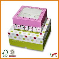 Quality cupcake boxes with insert wholesale