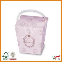 Buy cheap Cute Cake Box with handles from wholesalers