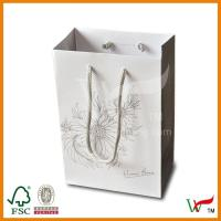 Buy cheap Gift Paper Bags with Cotton Ropes from wholesalers