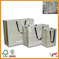 Buy cheap 2012 New customized paper shopping bag from wholesalers