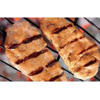 Quality BBQ grilled salmon burger wholesale