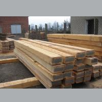 China New Treated Railway Wood Sleepers on sale