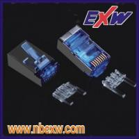 RJ45 connector for CAT6 FTP 2+6